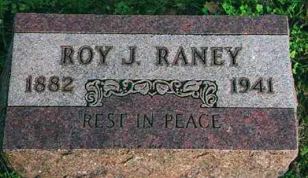 RANEY, ROY J. - Wood County, Ohio | ROY J. RANEY - Ohio Gravestone Photos