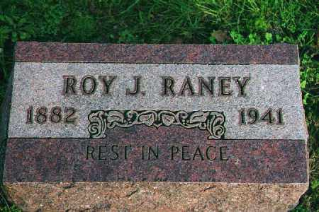 RANEY, ROY JAMES - Wood County, Ohio | ROY JAMES RANEY - Ohio Gravestone Photos