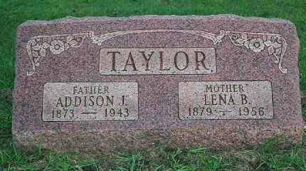TAYLOR, LENA B. - Wood County, Ohio | LENA B. TAYLOR - Ohio Gravestone Photos