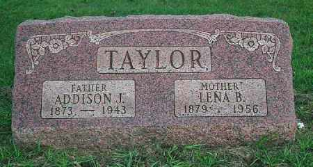 TAYLOR, LENA - Wood County, Ohio | LENA TAYLOR - Ohio Gravestone Photos
