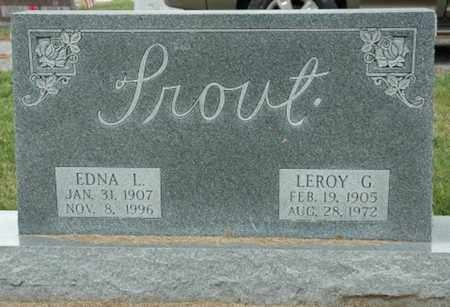 TROUT, EDNA L. - Wood County, Ohio | EDNA L. TROUT - Ohio Gravestone Photos