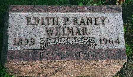 SPRUNK WEIMAR, EDITH P. RANEY - Wood County, Ohio | EDITH P. RANEY SPRUNK WEIMAR - Ohio Gravestone Photos