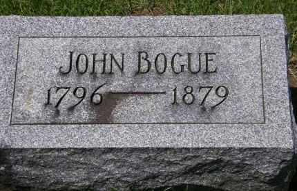 BOGUE, JOHN - Wyandot County, Ohio | JOHN BOGUE - Ohio Gravestone Photos