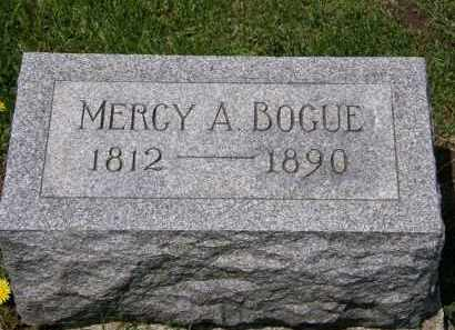 BOGUE, MERCY A. - Wyandot County, Ohio | MERCY A. BOGUE - Ohio Gravestone Photos