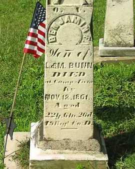 BUNN, M. - Wyandot County, Ohio | M. BUNN - Ohio Gravestone Photos