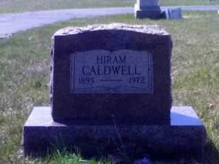 CALDWELL, HIRAM - Wyandot County, Ohio | HIRAM CALDWELL - Ohio Gravestone Photos