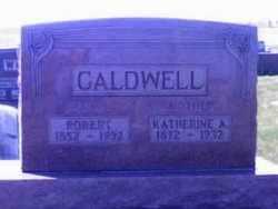 CALDWELL, KATHERINE - Wyandot County, Ohio | KATHERINE CALDWELL - Ohio Gravestone Photos