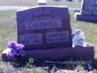 "CALDWELL, MARGARET ""MARTHA"" - Wyandot County, Ohio 