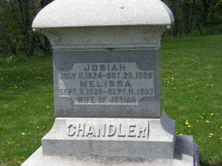 CHANDLER, JOSIAH - Wyandot County, Ohio | JOSIAH CHANDLER - Ohio Gravestone Photos