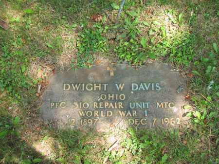 DAVIS, DWIGHT W. - Wyandot County, Ohio   DWIGHT W. DAVIS - Ohio Gravestone Photos