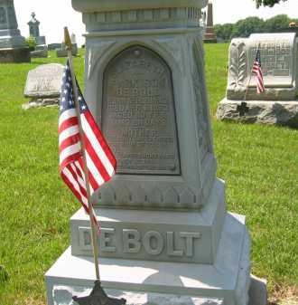 DE BOLT, ELIZABETH - Wyandot County, Ohio | ELIZABETH DE BOLT - Ohio Gravestone Photos