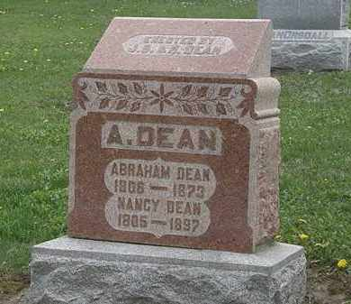DEAN, NANCY - Wyandot County, Ohio | NANCY DEAN - Ohio Gravestone Photos