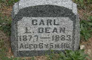 DEAN, CARL L. - Wyandot County, Ohio | CARL L. DEAN - Ohio Gravestone Photos
