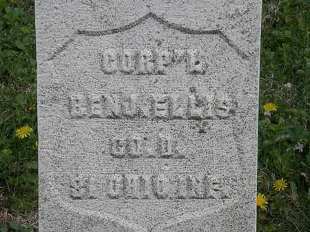 ELLIS, CORP'L. BENJ. - Wyandot County, Ohio | CORP'L. BENJ. ELLIS - Ohio Gravestone Photos