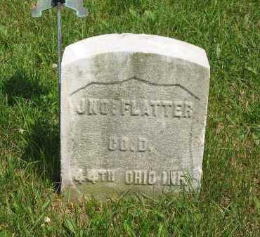 FLATTER, JNO. - Wyandot County, Ohio | JNO. FLATTER - Ohio Gravestone Photos