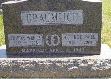 GRAUMLICH, FRIEDA VIOLET - Wyandot County, Ohio | FRIEDA VIOLET GRAUMLICH - Ohio Gravestone Photos