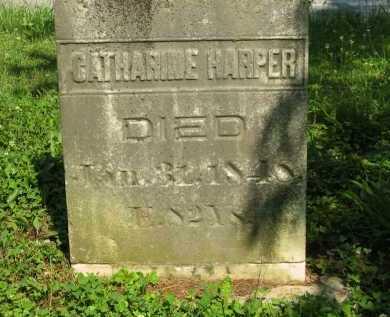 HARPER, CATHARINE - Wyandot County, Ohio   CATHARINE HARPER - Ohio Gravestone Photos