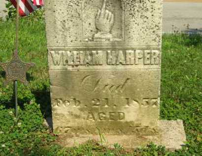 HARPER, WILLIAM - Wyandot County, Ohio | WILLIAM HARPER - Ohio Gravestone Photos