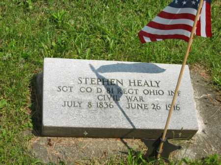 HEALEY, STEPHEN - Wyandot County, Ohio | STEPHEN HEALEY - Ohio Gravestone Photos