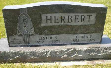 HERBERT, CLARA F. - Wyandot County, Ohio | CLARA F. HERBERT - Ohio Gravestone Photos