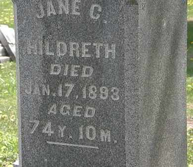 HILDRETH, JANE C. - Wyandot County, Ohio | JANE C. HILDRETH - Ohio Gravestone Photos
