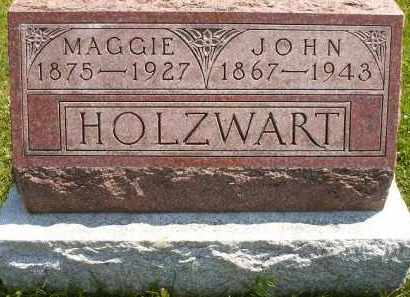HOLZWART, JOHN - Wyandot County, Ohio | JOHN HOLZWART - Ohio Gravestone Photos