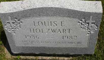 HOLZWART, LOUIS EUGENE - Wyandot County, Ohio | LOUIS EUGENE HOLZWART - Ohio Gravestone Photos