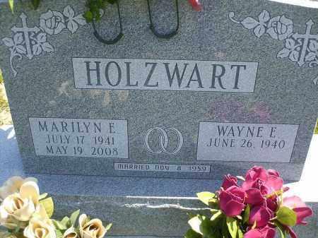 HOLZWART, WAYNE E. - Wyandot County, Ohio | WAYNE E. HOLZWART - Ohio Gravestone Photos