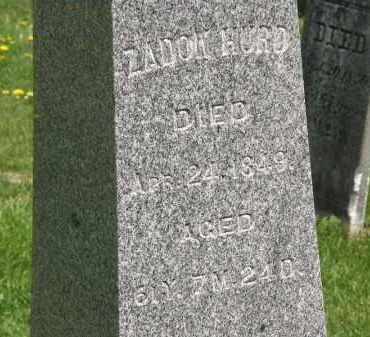 HURD, ZADOK - Wyandot County, Ohio | ZADOK HURD - Ohio Gravestone Photos