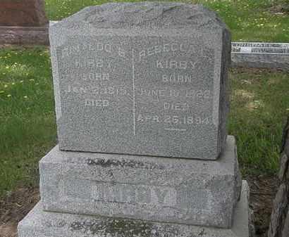 KIRBY, RENALDO B. - Wyandot County, Ohio | RENALDO B. KIRBY - Ohio Gravestone Photos