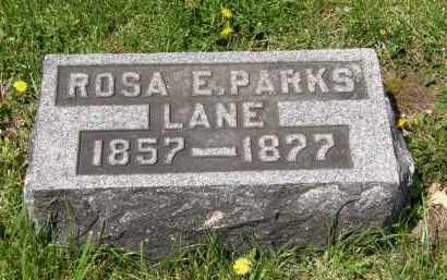LANE, ROSA E. - Wyandot County, Ohio | ROSA E. LANE - Ohio Gravestone Photos