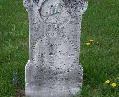 LOADER, RICHARD - Wyandot County, Ohio | RICHARD LOADER - Ohio Gravestone Photos