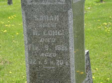 LONG, SARAH - Wyandot County, Ohio | SARAH LONG - Ohio Gravestone Photos