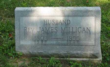 MILLIGAN, REV. JAMES - Wyandot County, Ohio | REV. JAMES MILLIGAN - Ohio Gravestone Photos