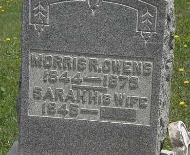 OWENS, MORRIS R. - Wyandot County, Ohio | MORRIS R. OWENS - Ohio Gravestone Photos