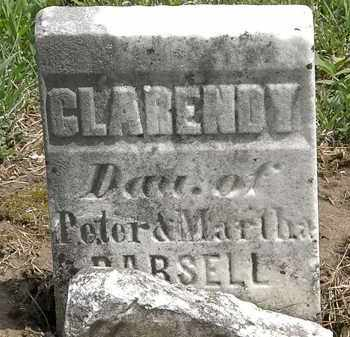 PARSELL, CLARENDY - Wyandot County, Ohio | CLARENDY PARSELL - Ohio Gravestone Photos