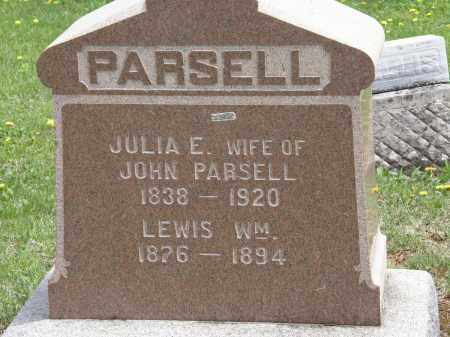 PARSELL, JULIA E. - Wyandot County, Ohio | JULIA E. PARSELL - Ohio Gravestone Photos