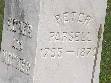 PARSELL, PETER - Wyandot County, Ohio | PETER PARSELL - Ohio Gravestone Photos