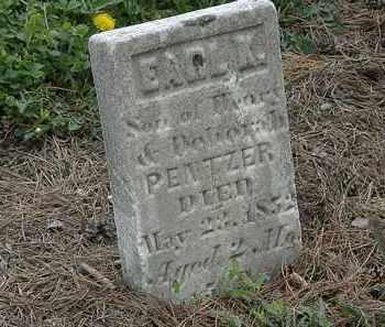 PENTZER, EARL K. - Wyandot County, Ohio | EARL K. PENTZER - Ohio Gravestone Photos
