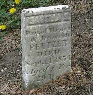 PENTZER, HENRY - Wyandot County, Ohio | HENRY PENTZER - Ohio Gravestone Photos