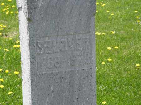 PHILLIPS, SELOVER - Wyandot County, Ohio | SELOVER PHILLIPS - Ohio Gravestone Photos