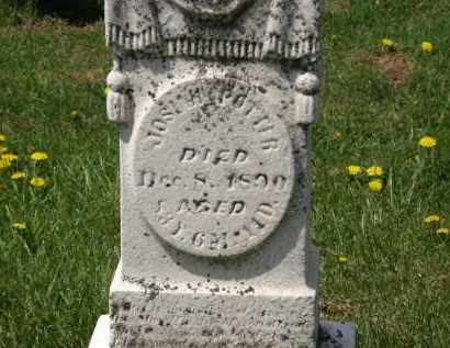 POTTER, JOSIAH - Wyandot County, Ohio | JOSIAH POTTER - Ohio Gravestone Photos
