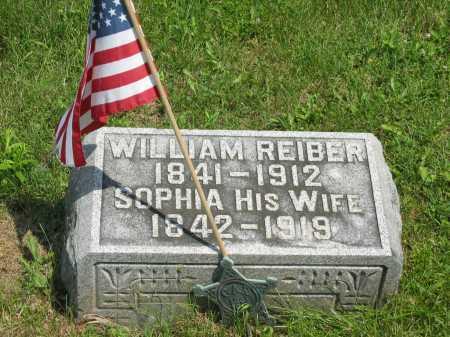 REIBER, SOPHIA - Wyandot County, Ohio | SOPHIA REIBER - Ohio Gravestone Photos