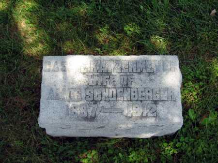"KATZENMEYER SCHOENBERGER, CATHERINE ""CASSIE"" - Wyandot County, Ohio 