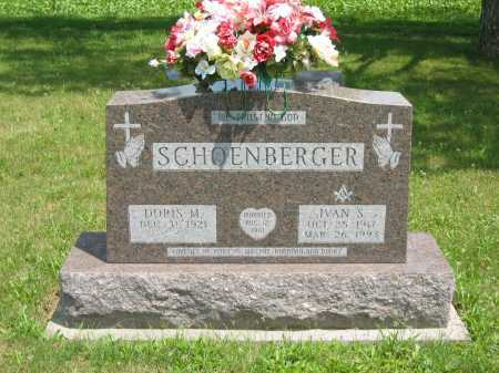 SCHOENBERGER, DORIS M. - Wyandot County, Ohio | DORIS M. SCHOENBERGER - Ohio Gravestone Photos