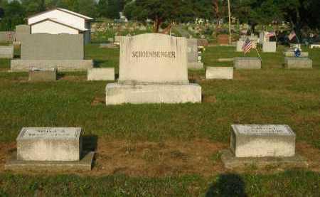 SCHOENBERGER, FAMILY PLOT - Wyandot County, Ohio | FAMILY PLOT SCHOENBERGER - Ohio Gravestone Photos
