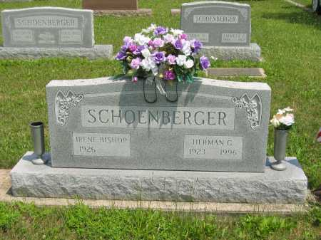 SCHOENBERGER, IRENE - Wyandot County, Ohio | IRENE SCHOENBERGER - Ohio Gravestone Photos