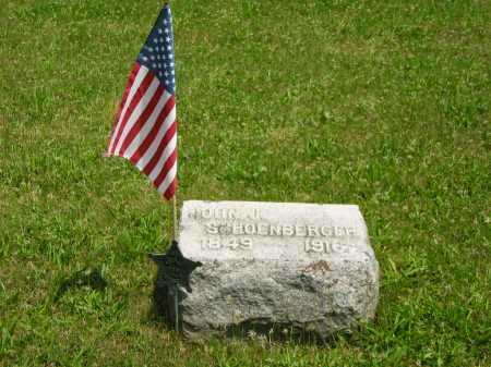 SCHOENBERGER, JOHN J. - Wyandot County, Ohio | JOHN J. SCHOENBERGER - Ohio Gravestone Photos