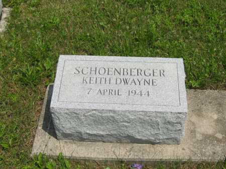 SCHOENBERGER, KEITH DWAYNE - Wyandot County, Ohio | KEITH DWAYNE SCHOENBERGER - Ohio Gravestone Photos