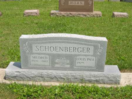 SCHOENBERGER, LOUIS PAUL - Wyandot County, Ohio | LOUIS PAUL SCHOENBERGER - Ohio Gravestone Photos